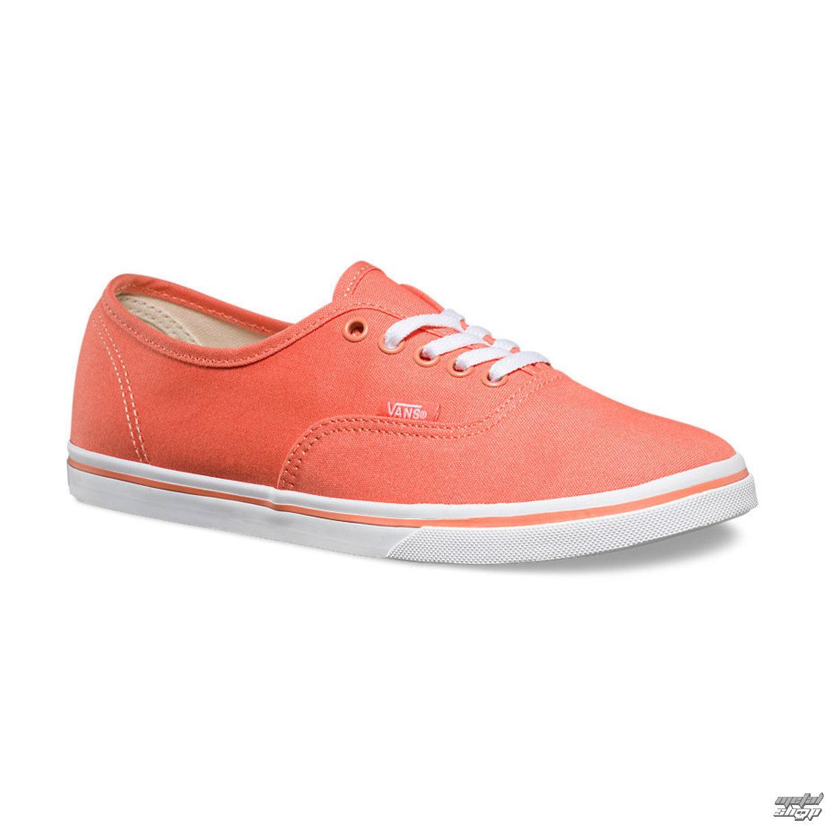 topánky dámske VANS - Authentic LO PRO - Fusion Coral - VXRNDSN