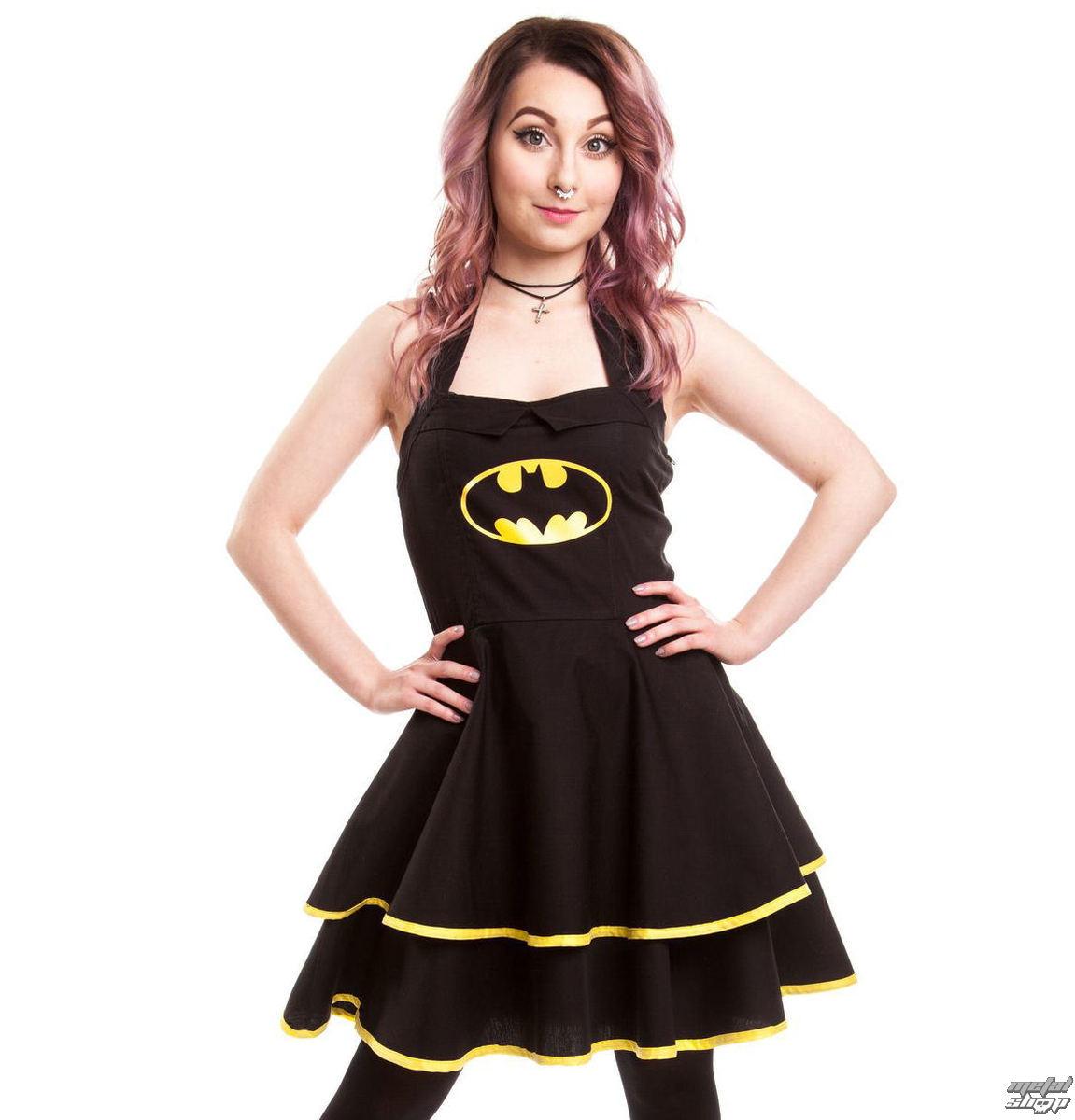 šaty dámske BATMAN - Batman Cape - Black - POI093