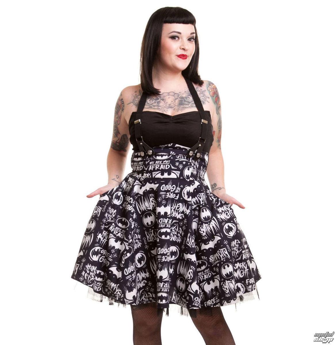 šaty dámske BATMAN - Graffiti - Batman - Black - POI089