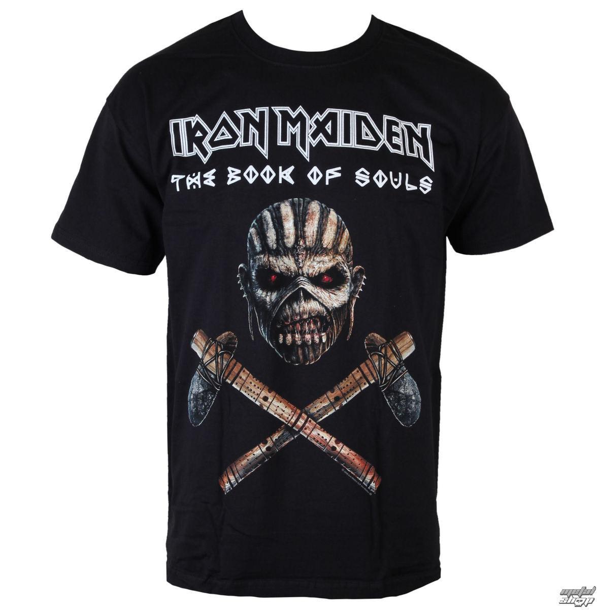 tričko pánske Iron Maiden - Axe - BLK - ROCK OFF - IMTEE52MB