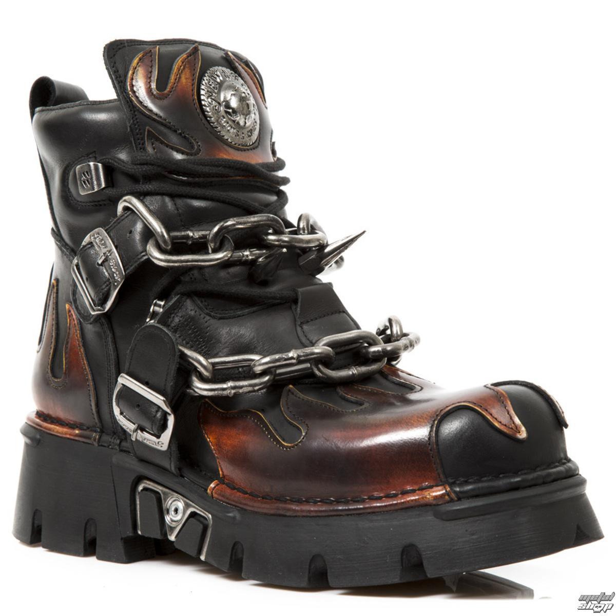 DOPRAVA ZADARMO topánky NEW ROCK - Itali Negro - Pilik Fuego - Reactor  Negro 507094c37cd