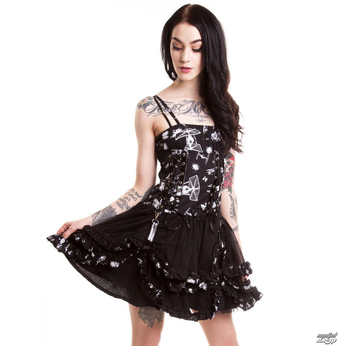 d092a519a šaty dámske DISNEY - Galaxy Empire - Black - POI101 - metalshop.sk