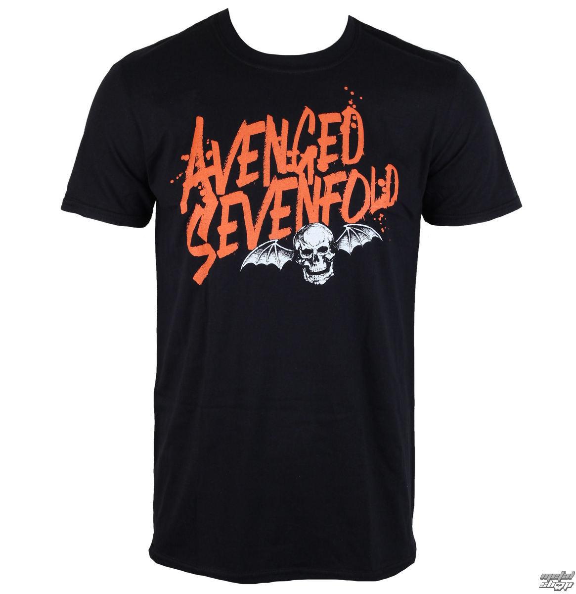 tričko pánske Avenged Sevenfold - LOGO - ROCK OFF - ASTS25MB