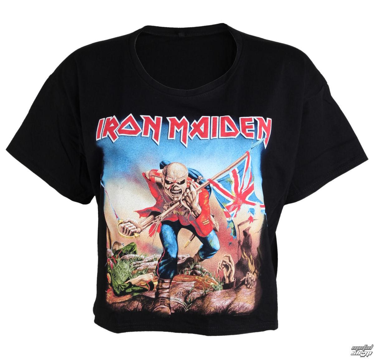 tričko dámske (top) Iron Maiden - Trooper - ROCK OFF - IMPBT01LB