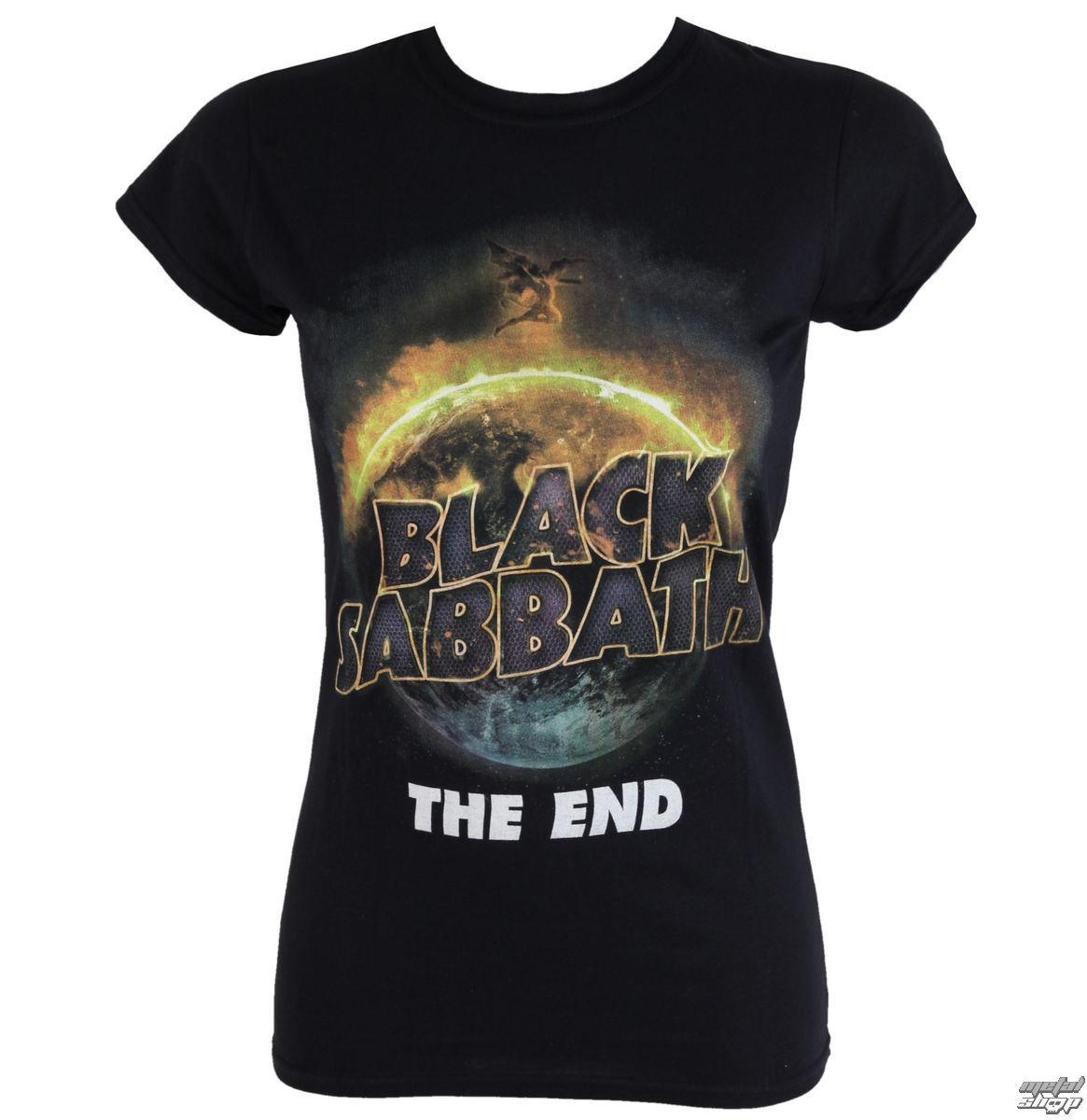 tričko dámske Black Sabbath - The End - ROCK OFF - BSTS20LB