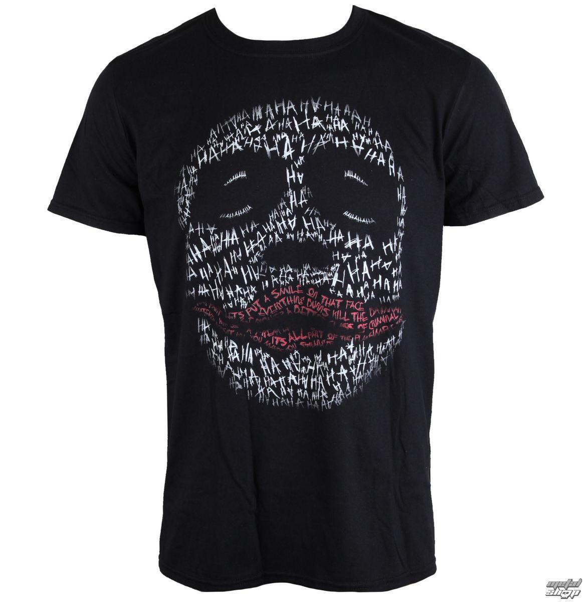 tričko pánske BATMAN THE DARK RYTIER - JOKER HA OUTLINE - LIVE NATION - PE13421TSBP