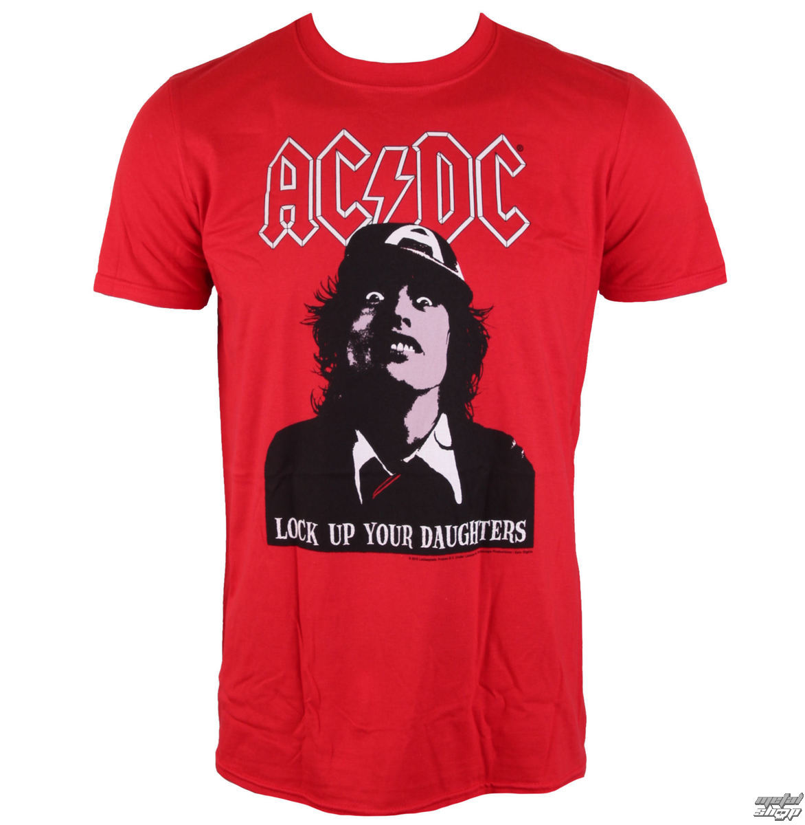 tričko pánske AC/DC - LOCK UP YOUR DCÉRY - LIVE NATION - PE13748TSCP
