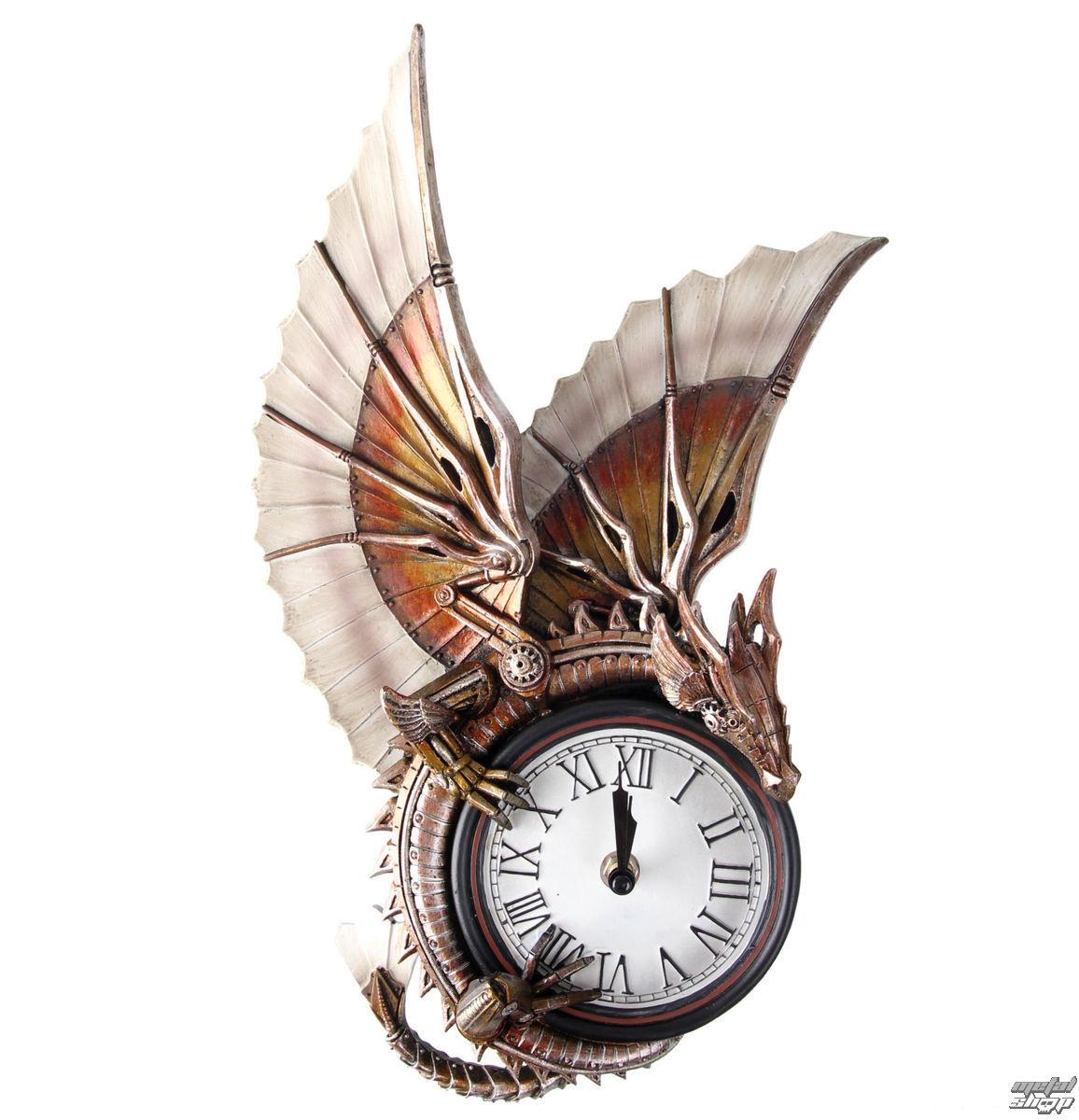 hodiny (dekorácia) Dragon - NENOW - B1481D5