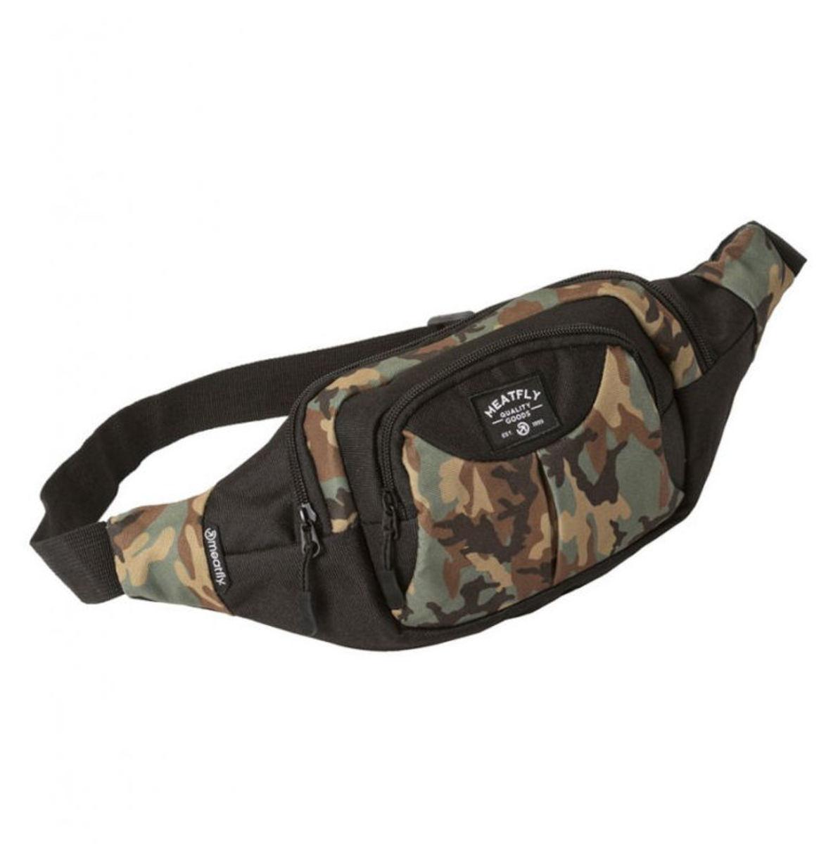 taška (ľadvinka) MEATFLY - WALLY WAIST - C - Camo - MEAT165