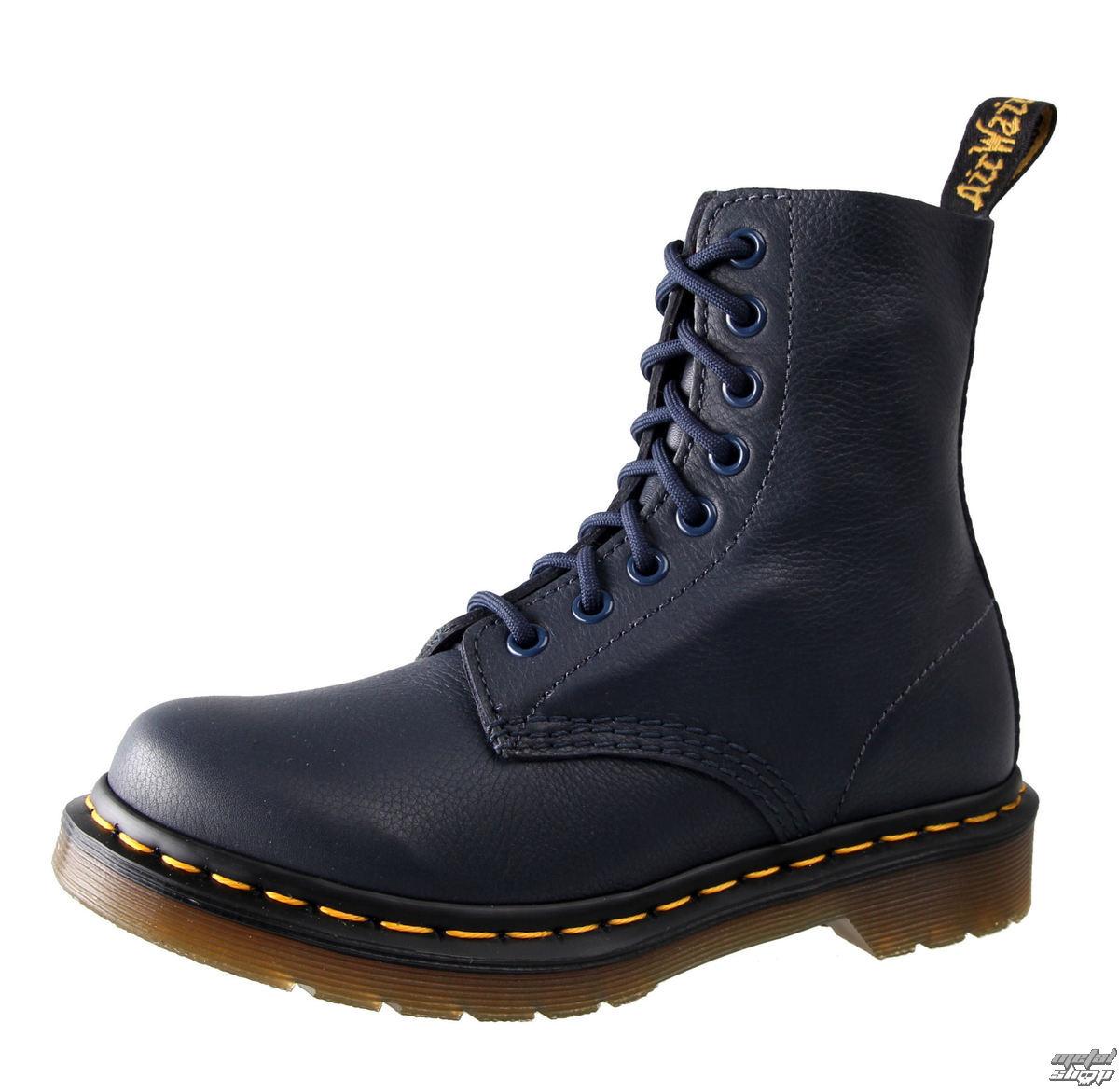 topánky Dr. Martens - 8 dierkové - Pascal Dress Blues Virginie - DR003