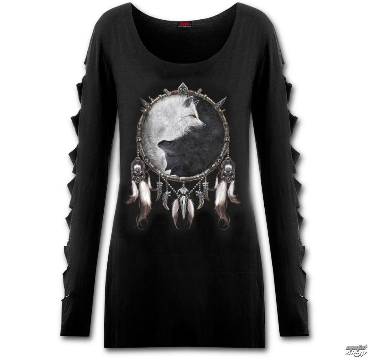 tričko dámske s dlhým rukávom SPIRAL - Wolf Chi - SPI001