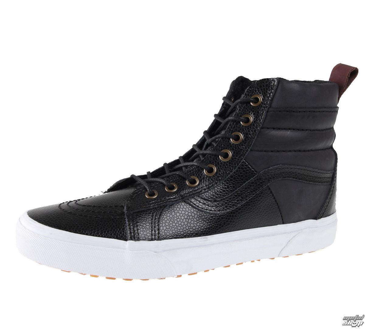 topánky pánske VANS - SK8-HI 46 MTE - Oblázek Leather - VA2XS2JTQ
