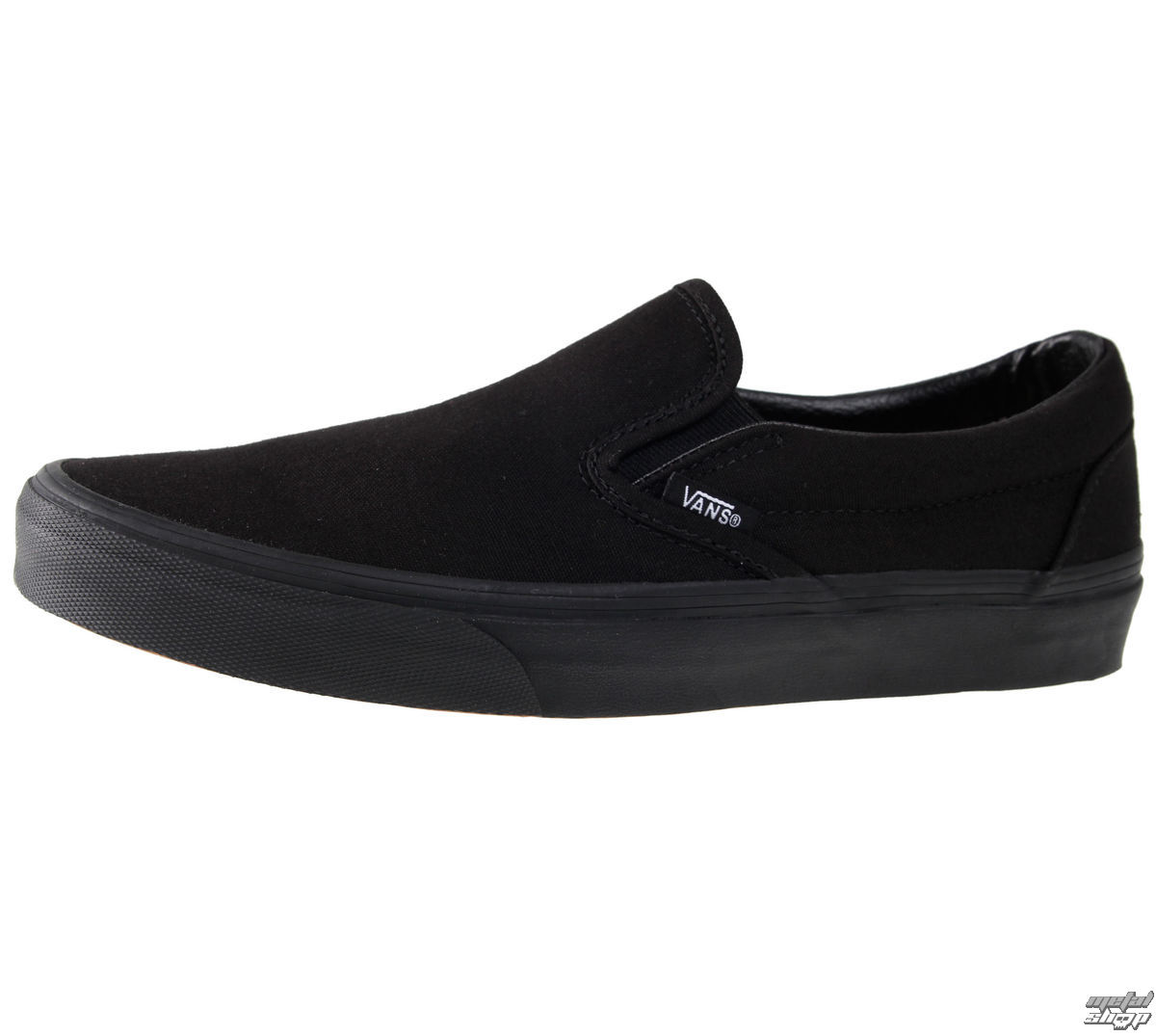 topánky pánske VANS - CLASSIC SLIP-ON - Black / Black - VEYEBKA