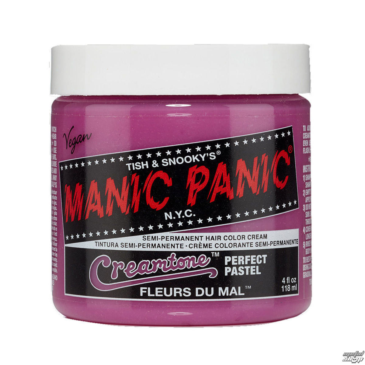 farba na vlasy MANIC PANIC - Classic - Fleurs du Mal - MP016