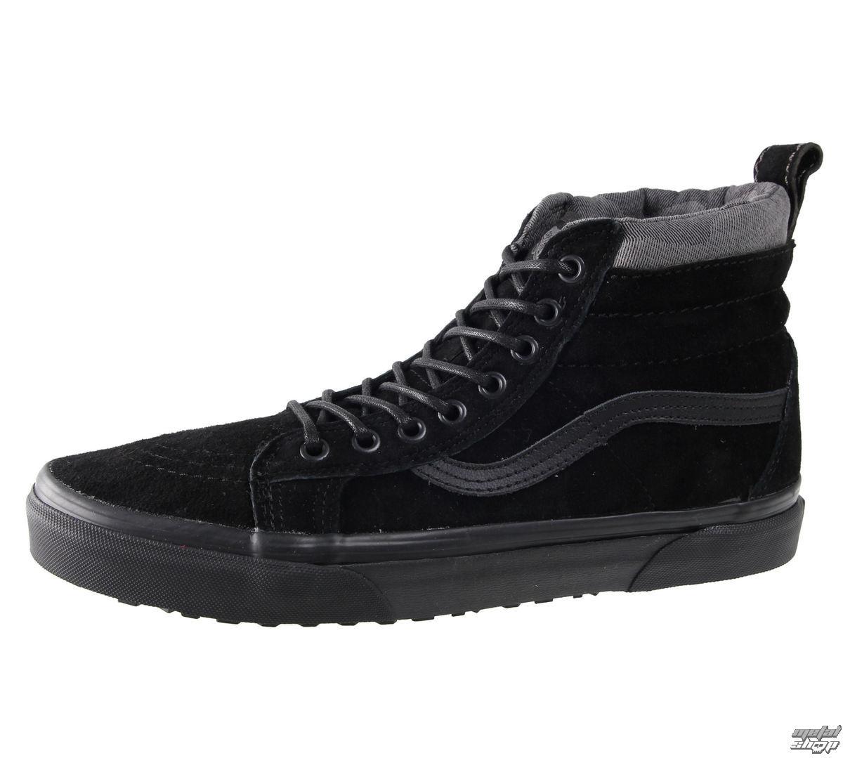 topánky VANS - SK8-HI-MTE - Black / Black - V00XH4JUB