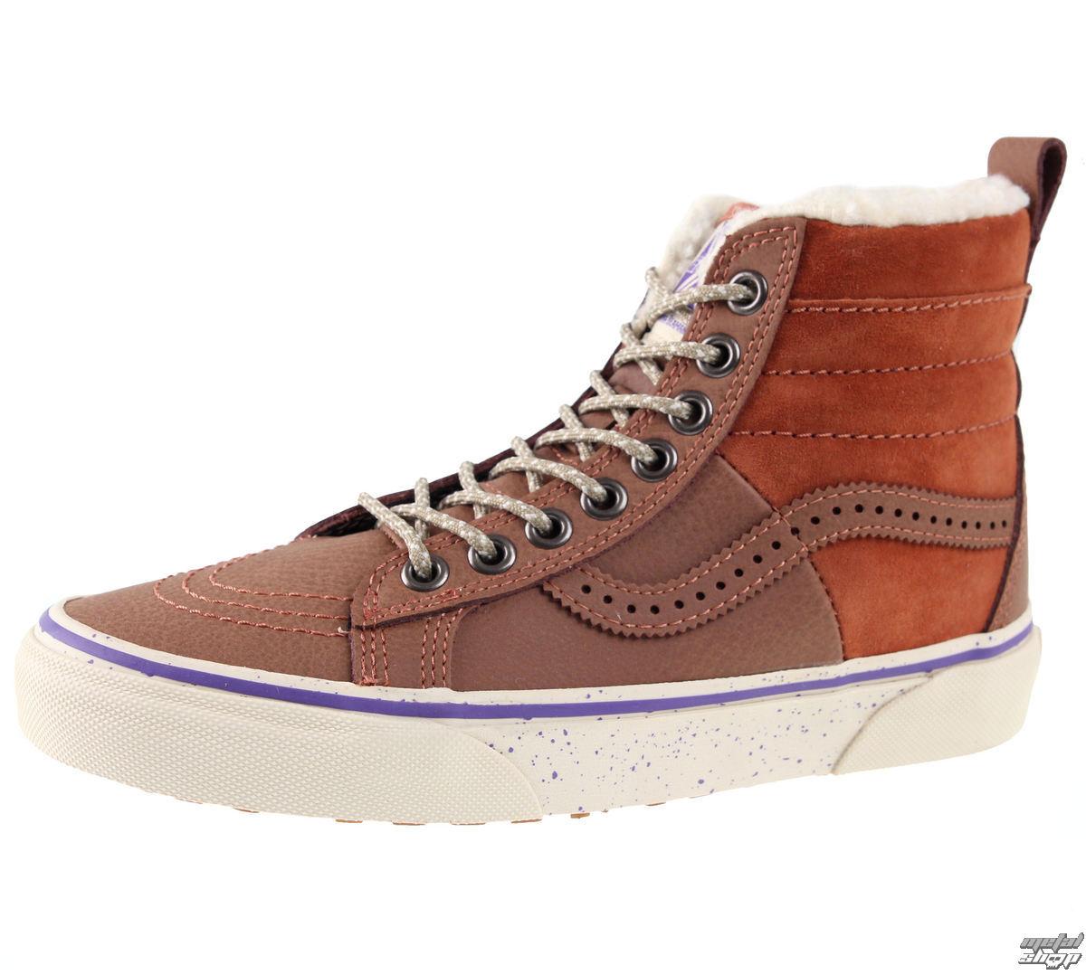 topánky zimný VANS - SK8-HI - 46 MTE - Hana Beaman - VA2XS2JMI