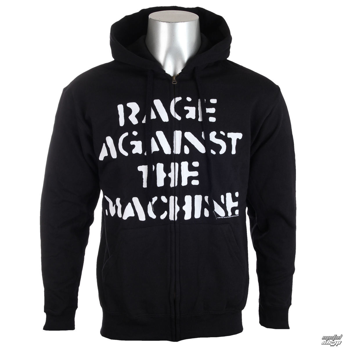 mikina pánska Rage Against The Machine - Large Fist Black - ATMOSPHERE - PRO031