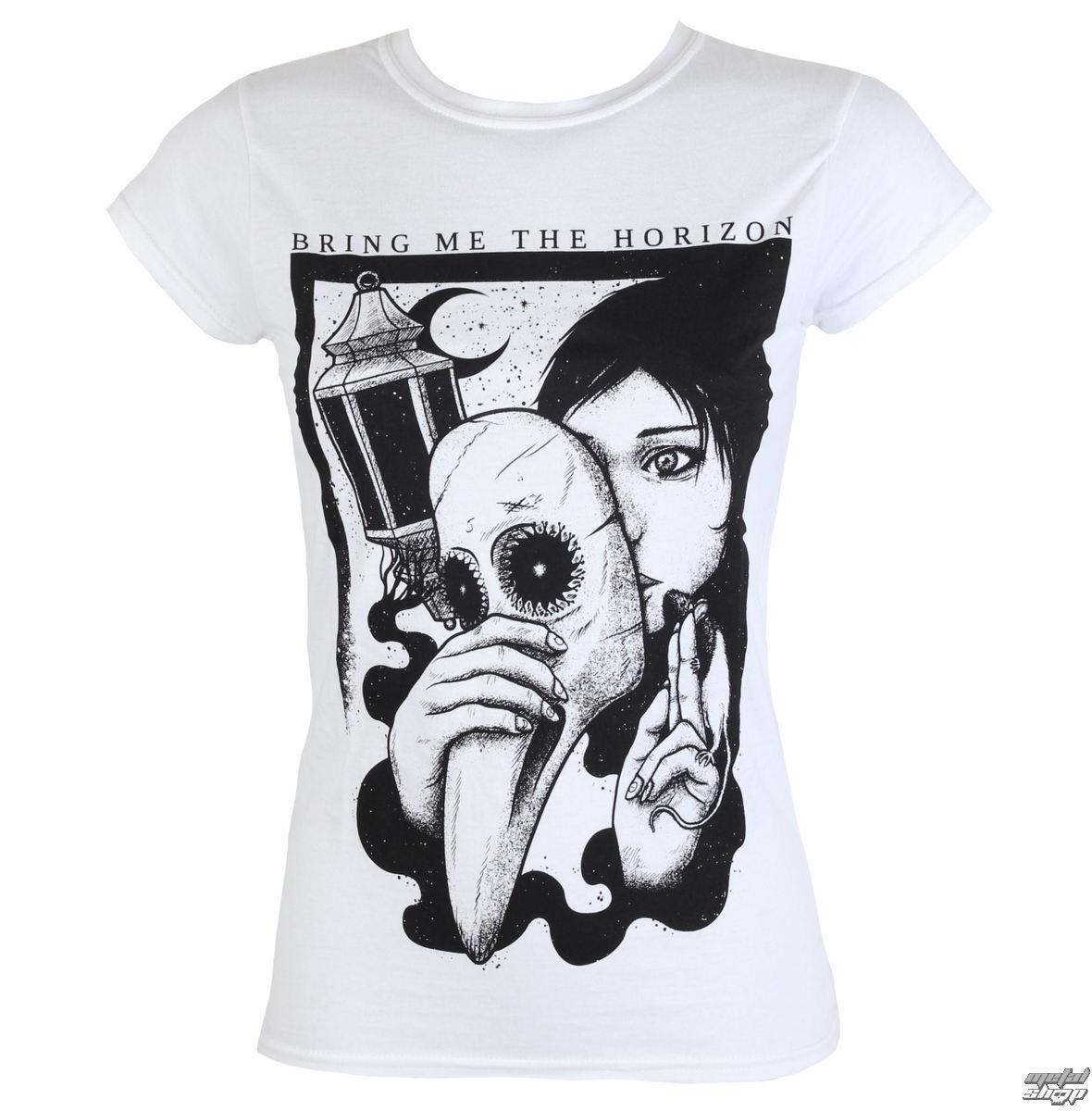 tričko dámske Bring Me The Horizon - Plague - ROCK OFF - BMTHTS45LW