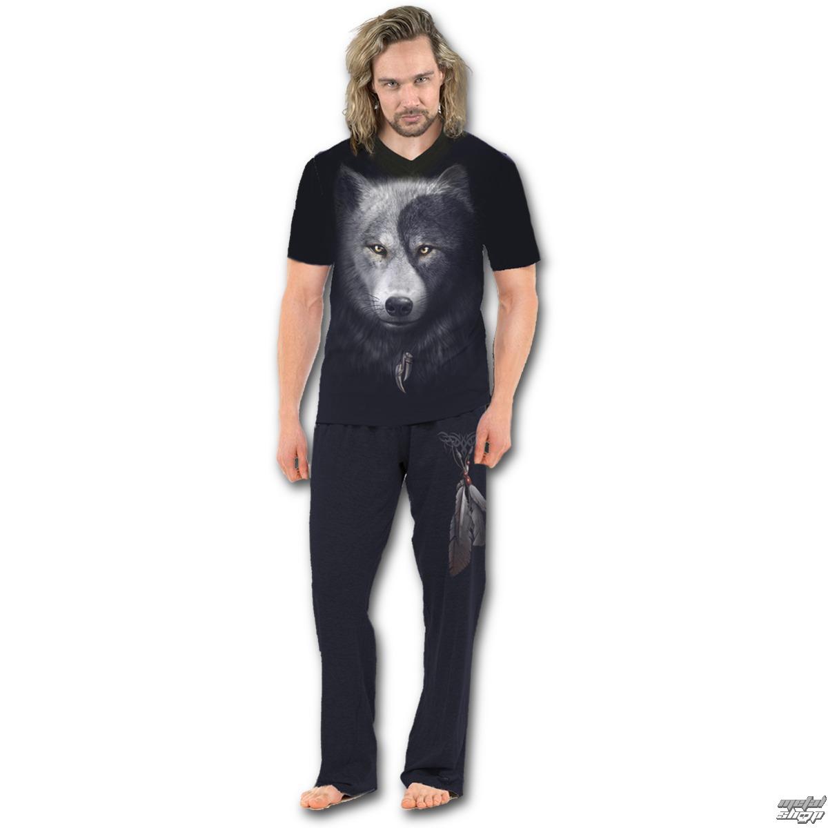 pyžamo pánske SPIRAL - WOLF CHI - T118M631