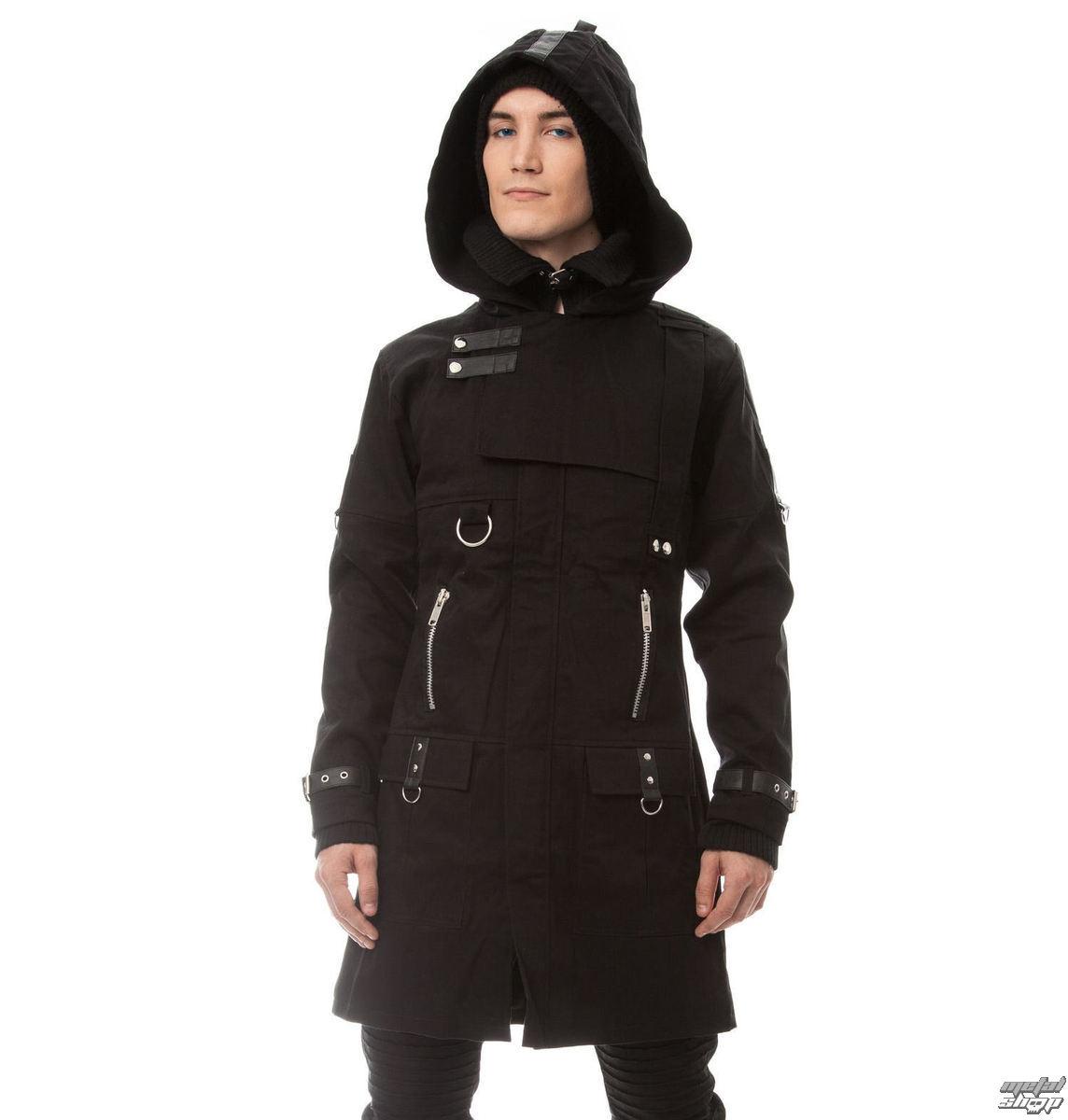 kabát pánsky VIXXSIN - EXCLUSION - BLACK - POI211