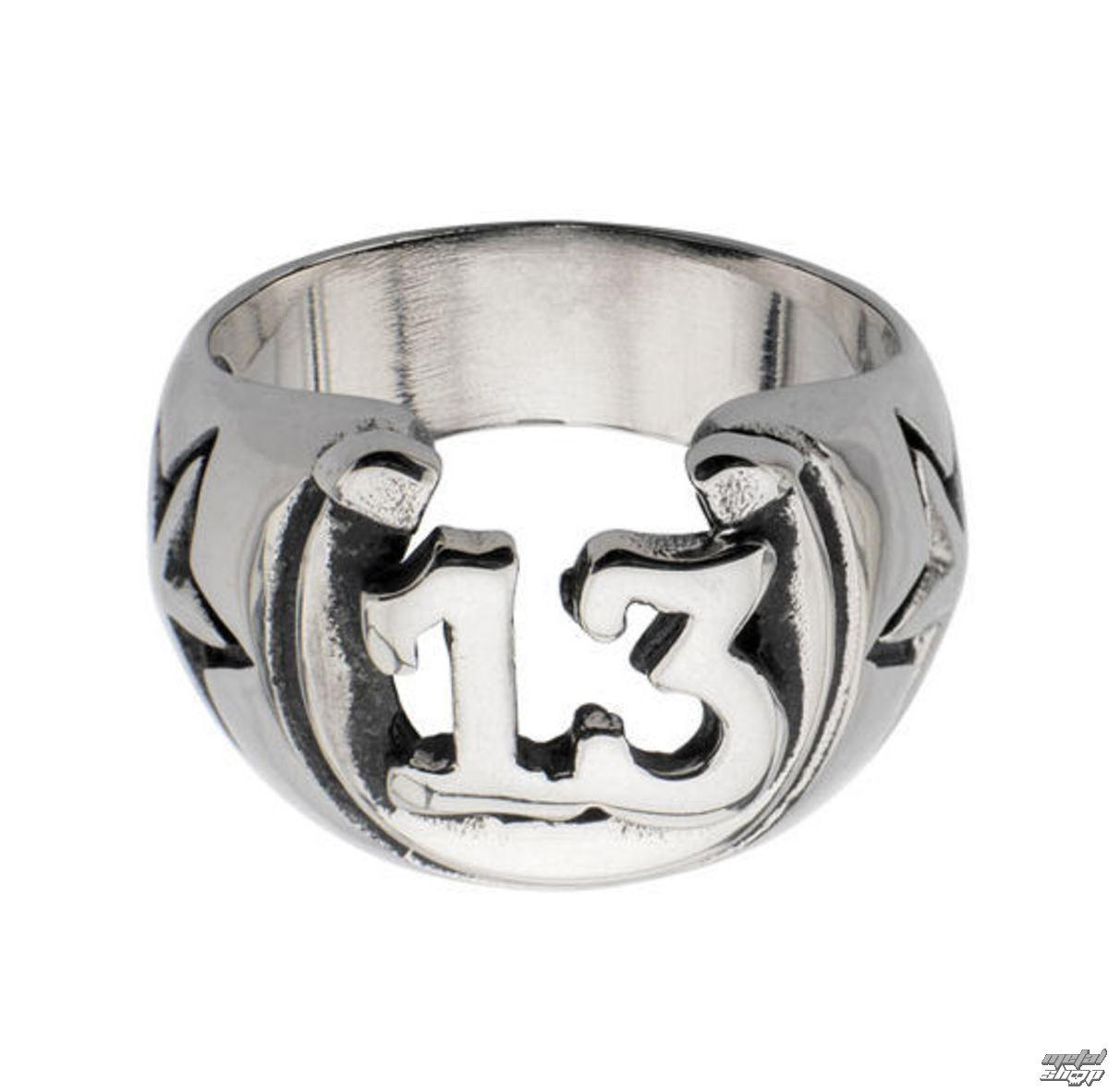 prsteň INOX - BLK LCKY13 HORSHOE - FR684