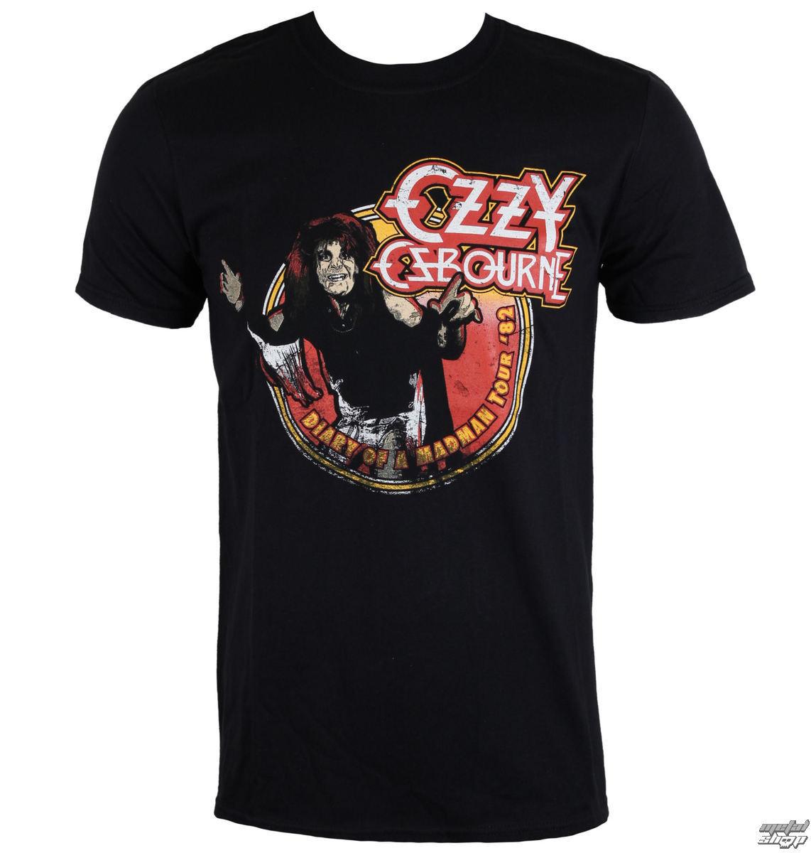 tričko pánske Ozzy Osbourne - Diary of a Madman - ROCK OFF - OZZTTRTW01MB