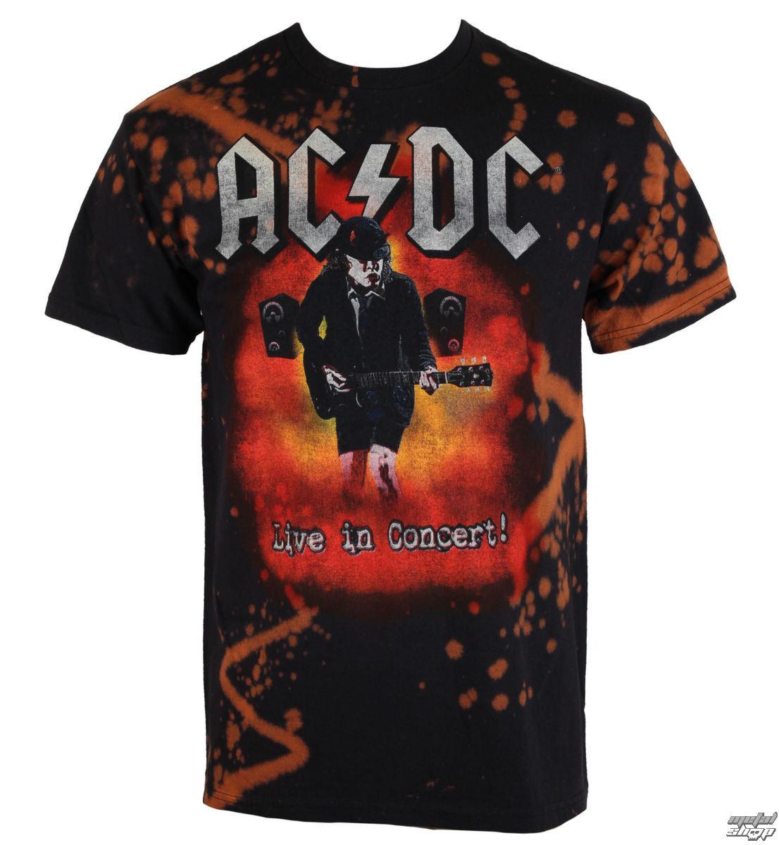 tričko pánske AC/DC - Live in Concert - BAILEY - R-064BB