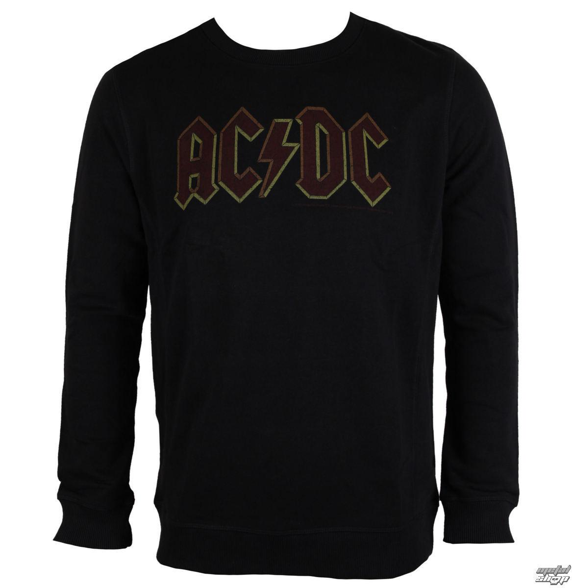 mikina pánska AC/DC - Logo - Black - AMPLIFIED - AV420ACL