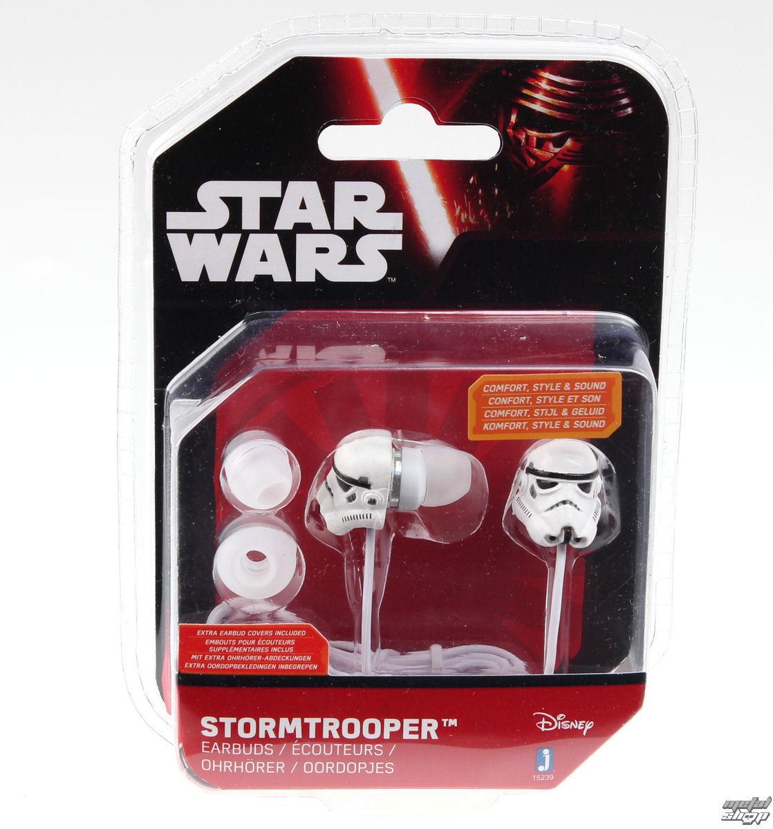 slúchadlá Star Wars - Stormtrooper - Wht - JAZ15230(3)