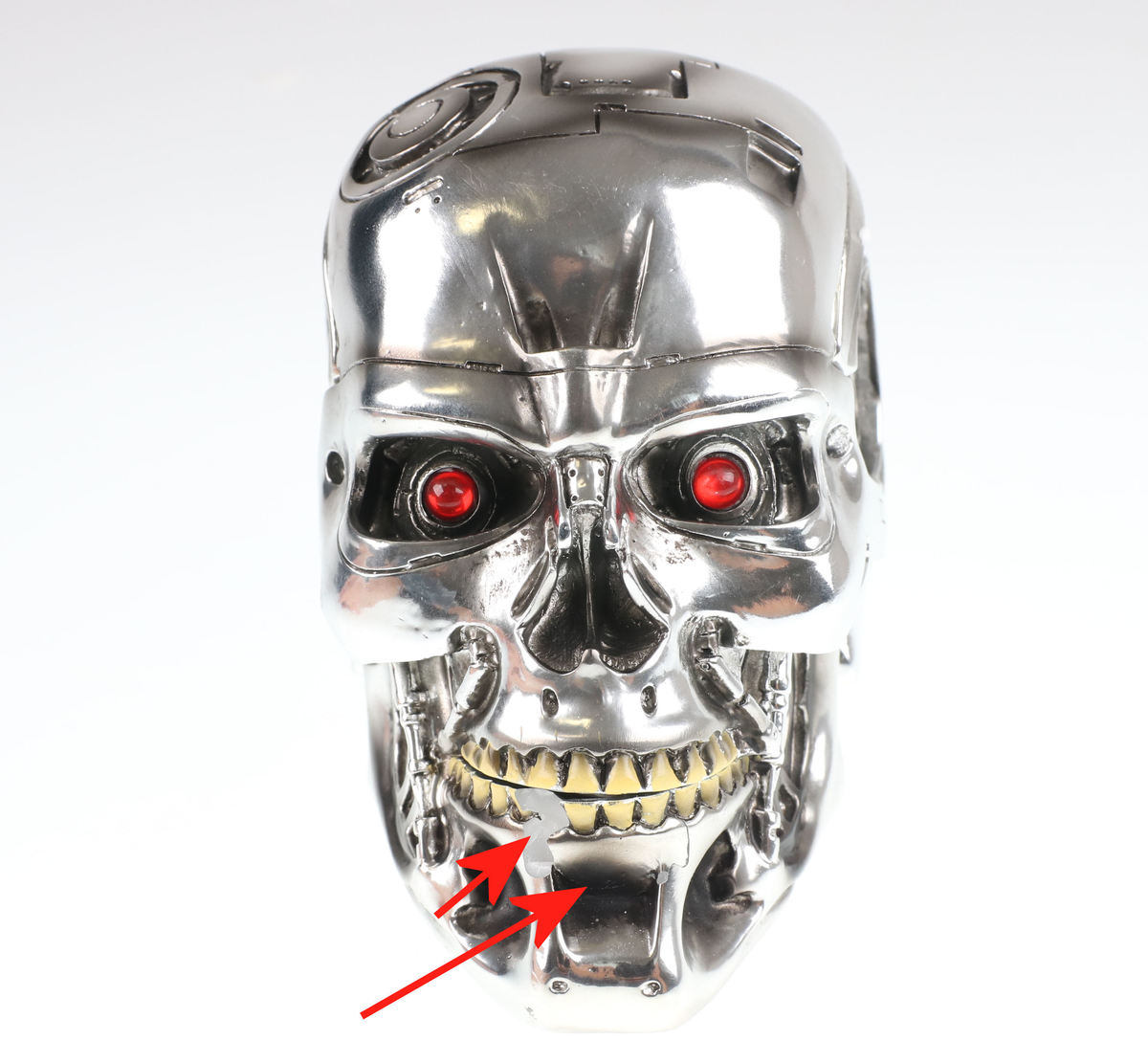 krabička (dekorácia) T-800 Terminator - POŠKODENÁ - MA204