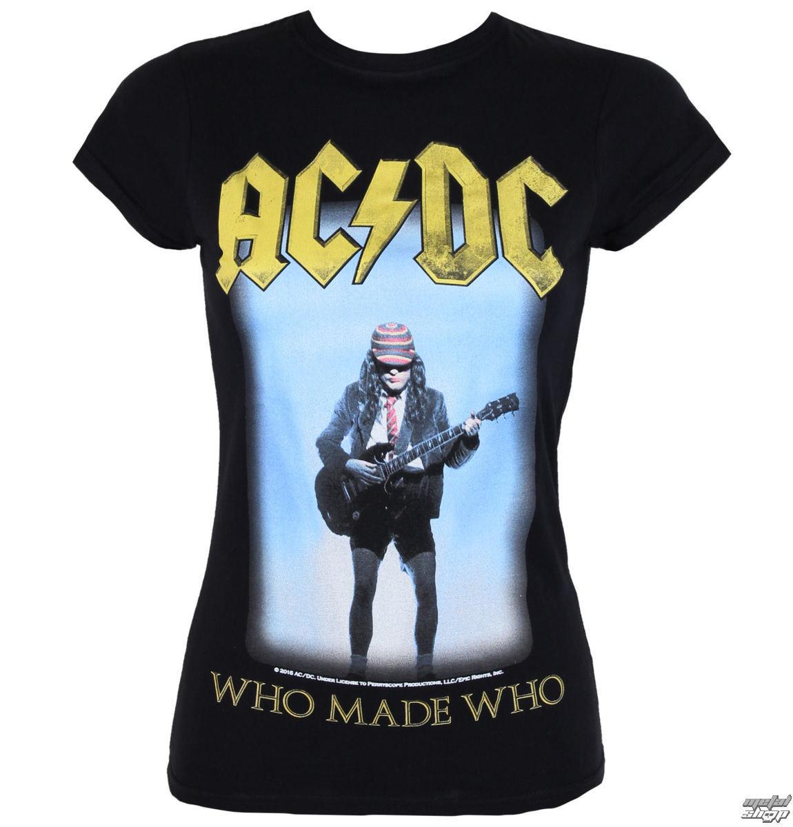 tričko dámske AC/DC - Who Made Who - LOW FREQUENCY - ACGS050015