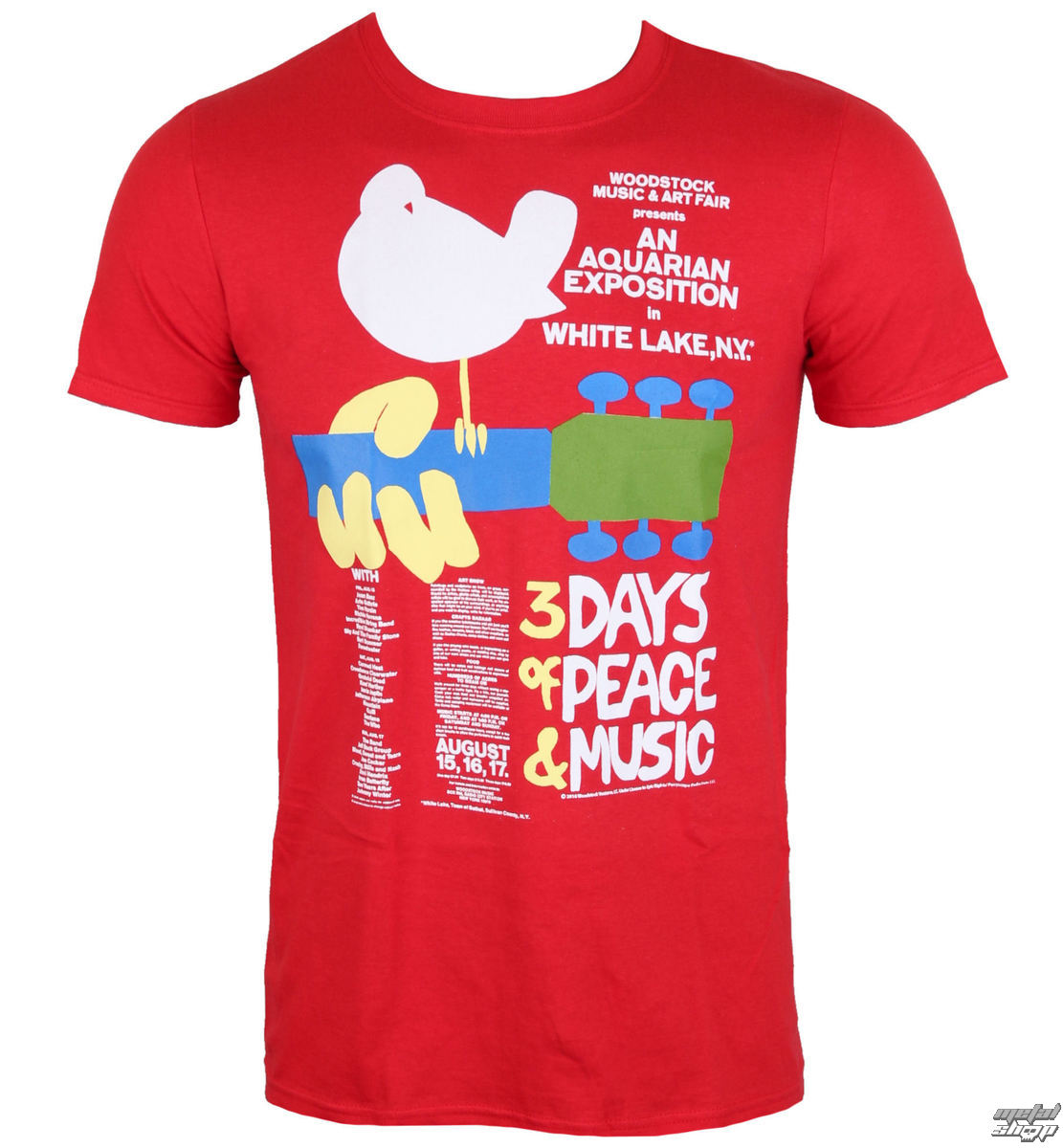 tričko pánske Woodstock- Poster- LOW FREQUENCY - WOTS06001