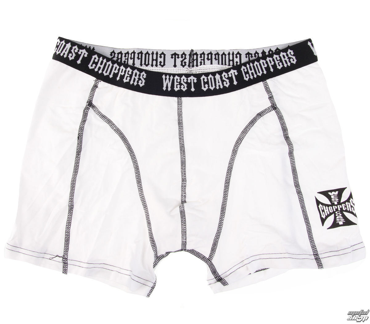 boxerky West Coast Choppers - WHITE - WCCBX001WT