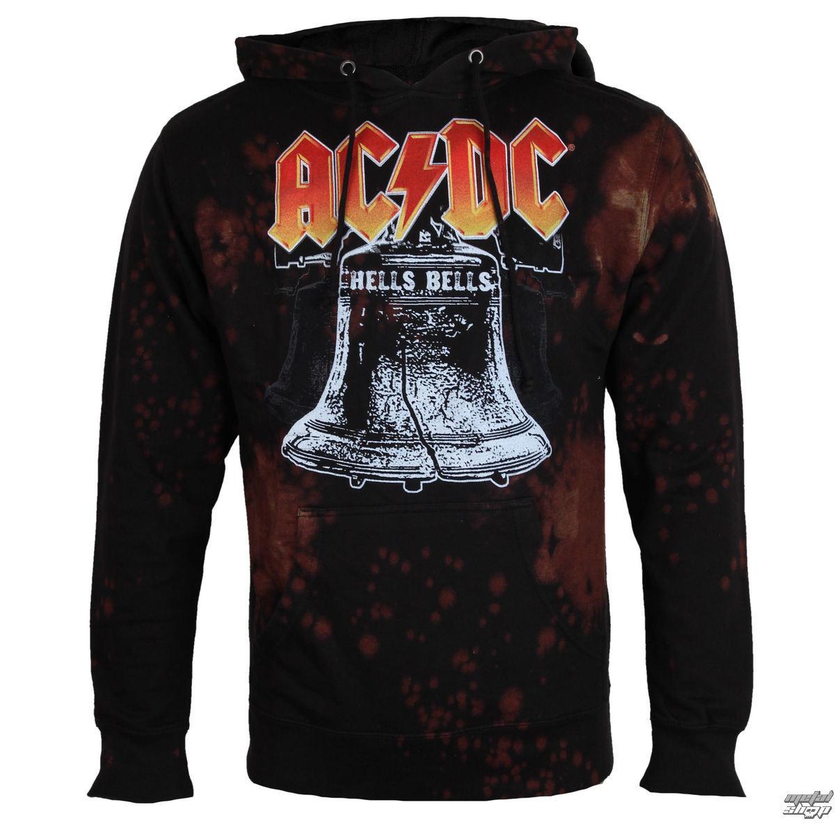 mikina pánska AC/DC - HELLS BELLS - BAILEY - BAILEY-018