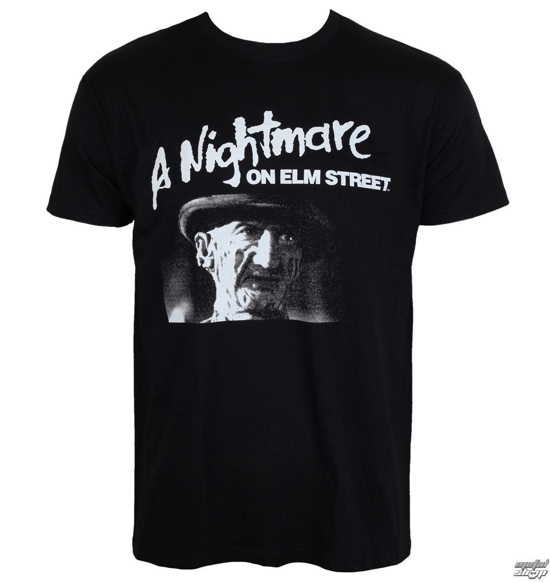 tričko pánske Noční můra z Elm Street - Black - HYBRIS - WB-1-NOES001-H65-7-BK
