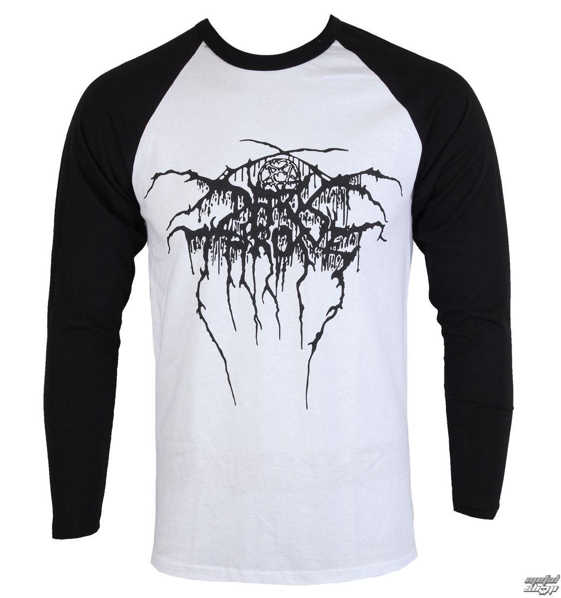 175aad14a656 tričko pánske s dlhým rukávom DARKTHRONE - LOGO - RAZAMATAZ - CL2102 ...