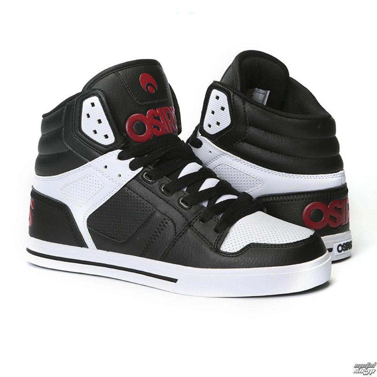topánky OSIRIS - Clone Black/Red/White - 1322-130