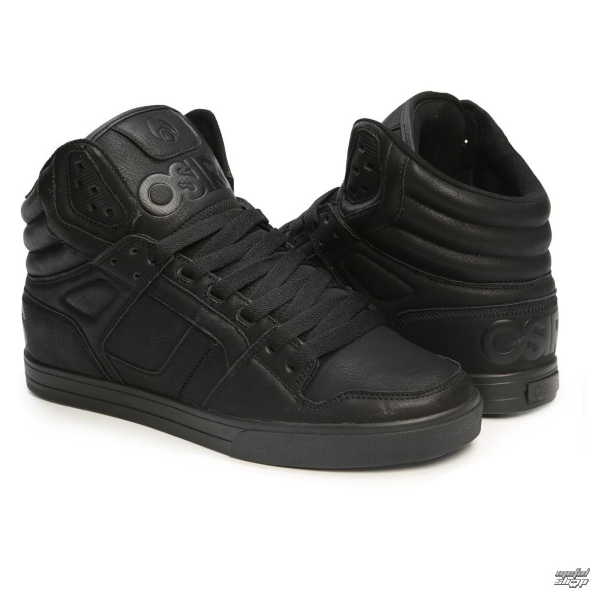 topánky OSIRIS - Clone Black/Metal - 1322-2459