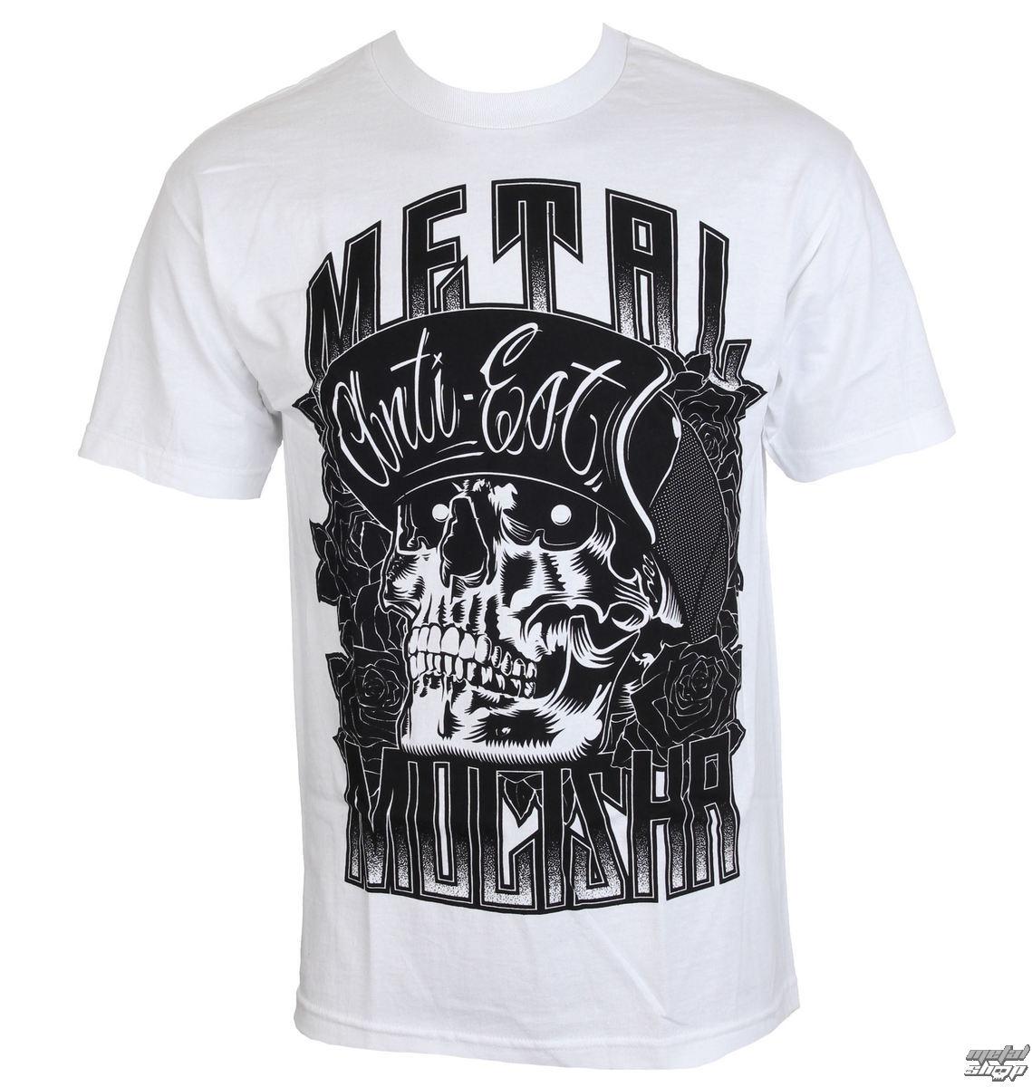 1c6f37bfcc3 tričko pánske METAL MULISHA - WOODCUT - WHT - WHT SP7518030.01 ...