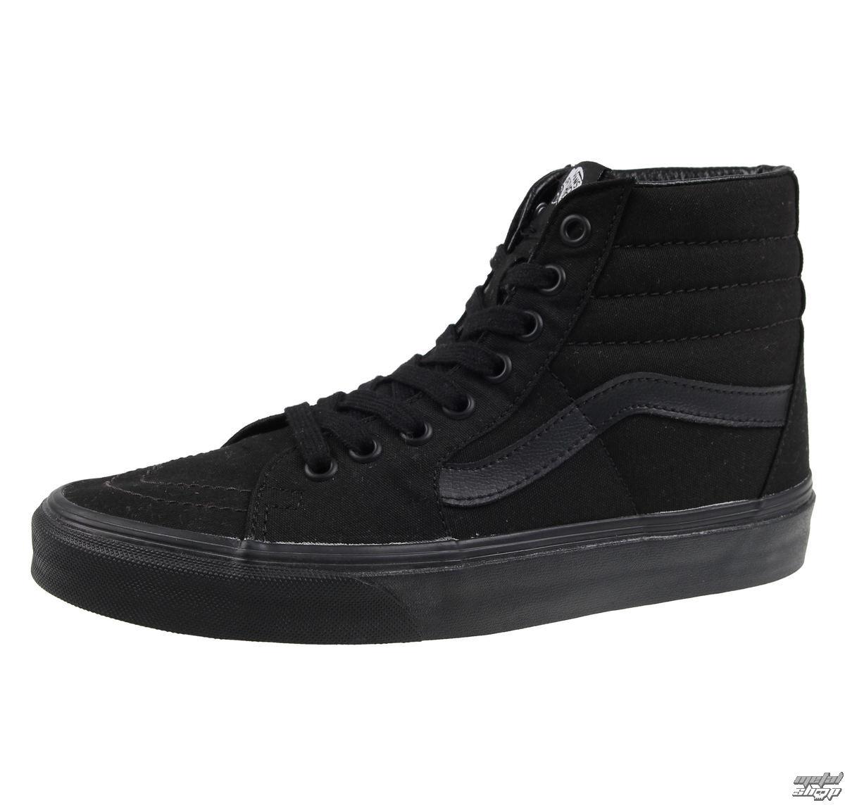 topánky VANS - UA SK8-HI Black / black / black - VTS9BJ4