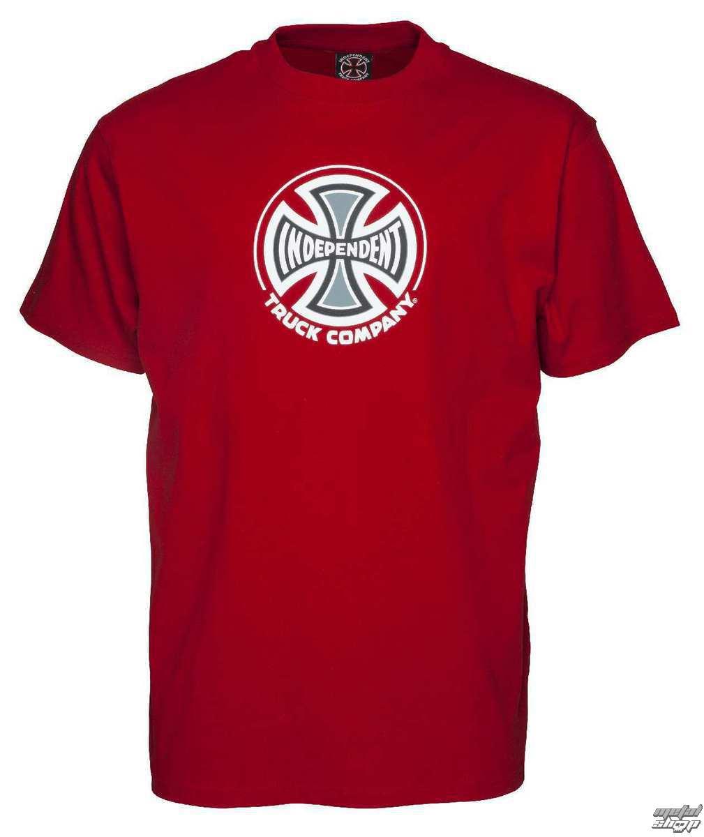 tričko pánske INDEPENDENT - Truck Co Cardinal Red - INATEE-113 CAR ... f920d4aad0