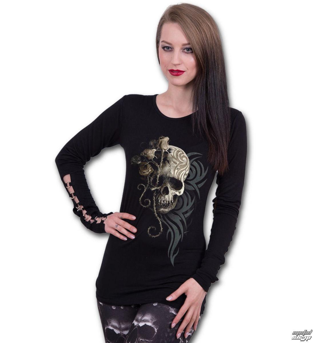 tričko dámske s dlhým rukávom SPIRAL - DARK ANGEL - L033F459