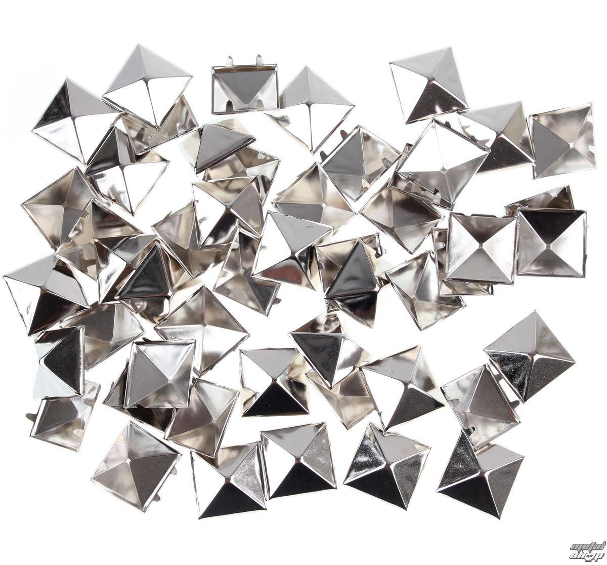 pyramídy kovové (50 ks) - ST006C