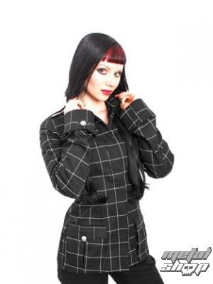 kabátik dámsky Mode Wichtig - Fine Lady Jacket Grid Denim - M-6-12-324-00