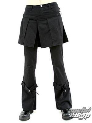 nohavice dámske Aderlass - Skirt Pants Denim Black - A-1-13-001-00