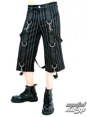 nohavice pánske 3/4 Aderlass - Short Pants Denim Pin Stripe A-1-44-050-01