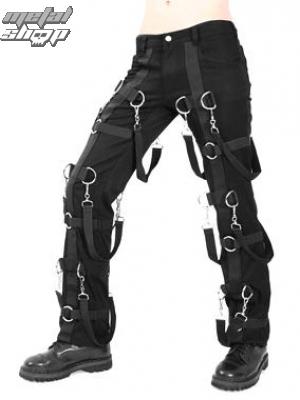 nohavice dámske Aderlass - Warrior Pants Denim (Black) - A-1-52-001-00