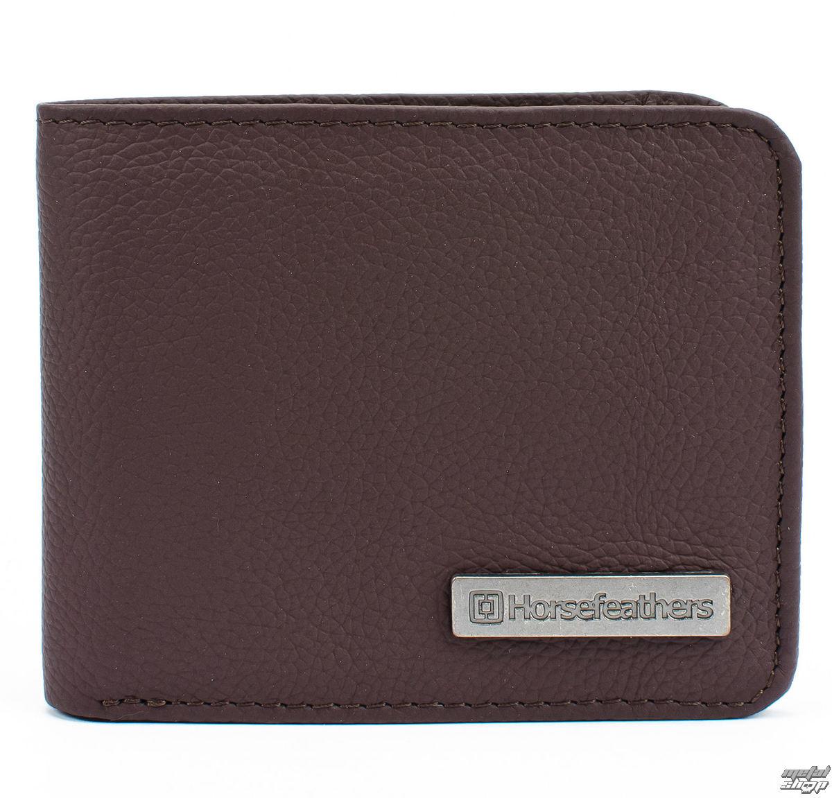 peňaženka HORSEFEATHERS - BRAD - BROWN - AA826B