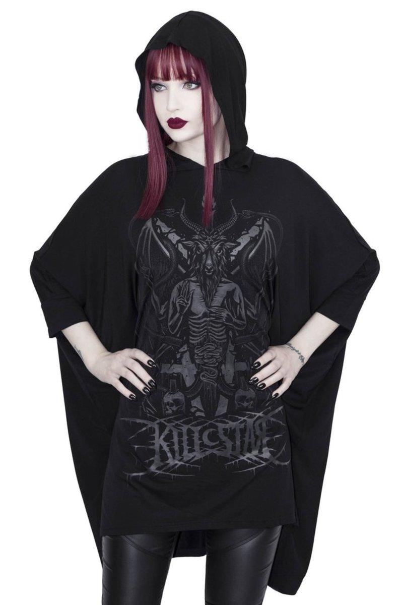 šaty dámske KILLSTAR - Asura - BLACK - KSRA001504