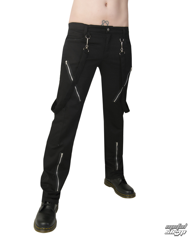 nohavice Black Pistol - Punk Pants Denim Black - B-1-01-001-00